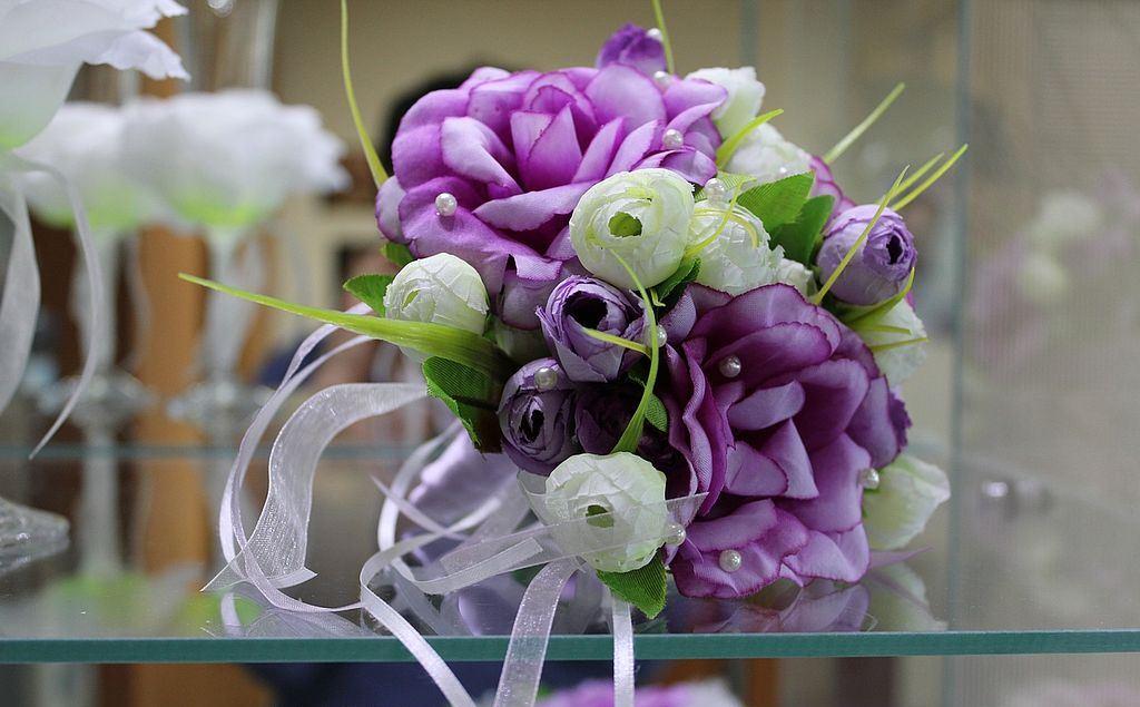 Эксклюзивные букеты для свадьбы своими руками, букет тюльпанов