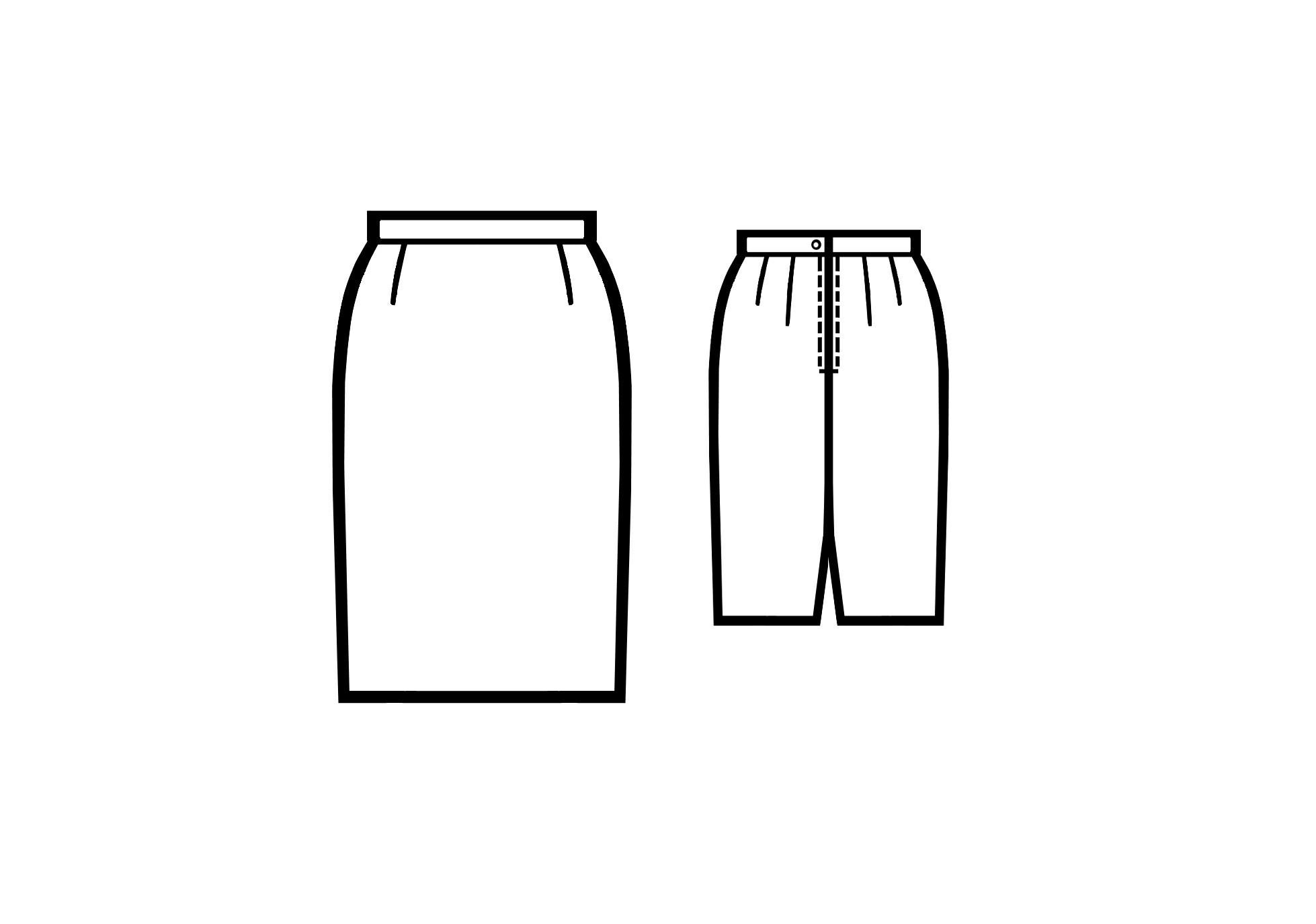 Как построить выкройку юбки самостоятельно