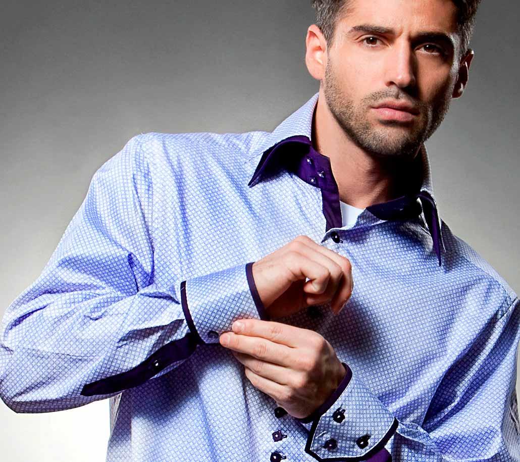 Выкройка мужской рубашки