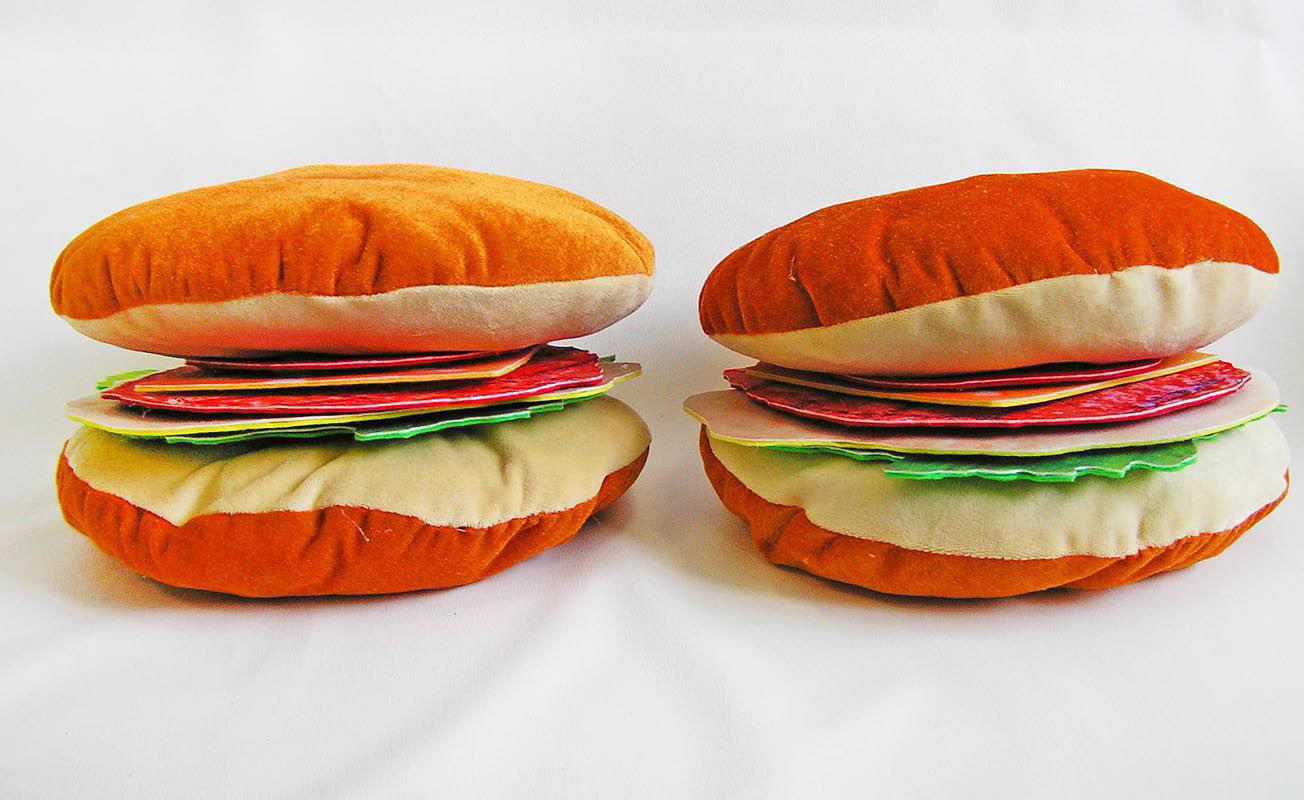 Мастер-класс костюм гамбургера
