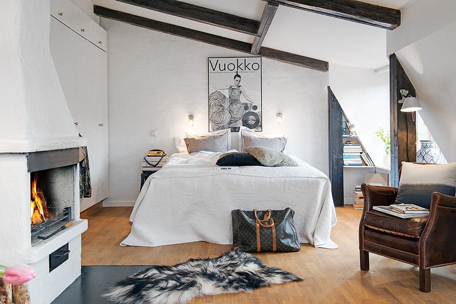 Как обустроить малогабаритку, 25-метровая квартира в Швеции