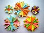 Как сделать винтажные звездочки на елку в технике оригами