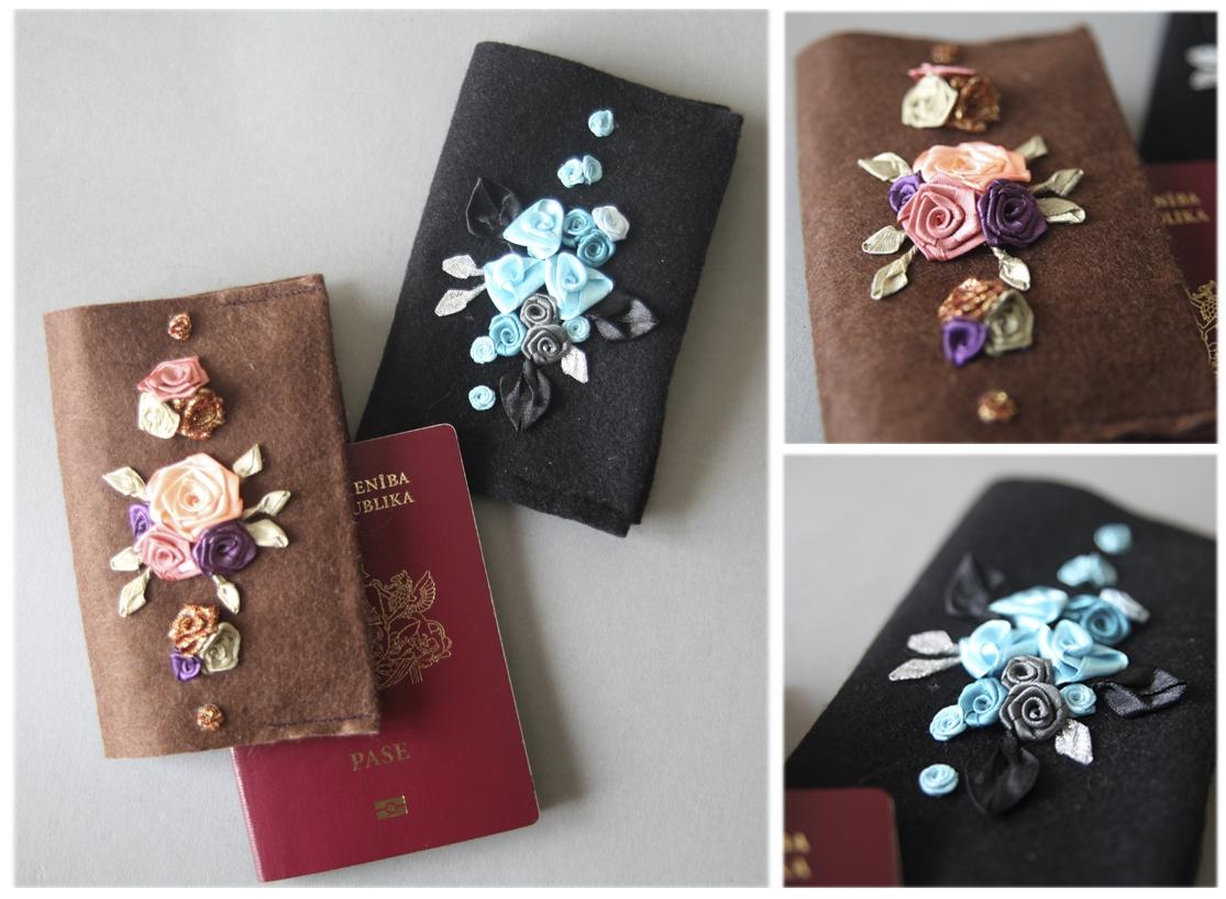 Как сделать фетровую обложку на паспорт своими руками