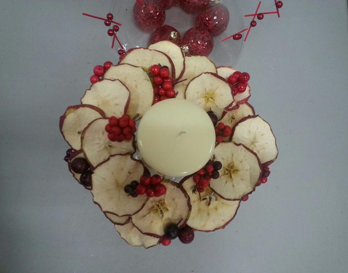 Яблочные свечи