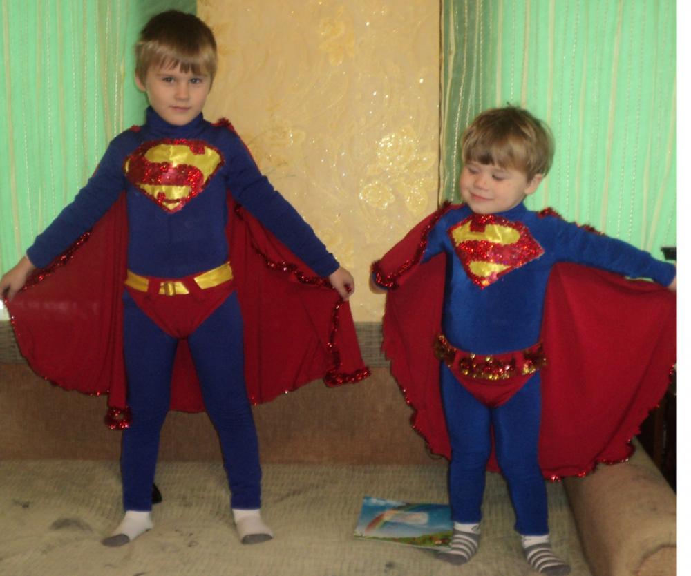 Как сделать костюм супергероя своими руками
