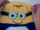 Детская шапочка крючком. Схема
