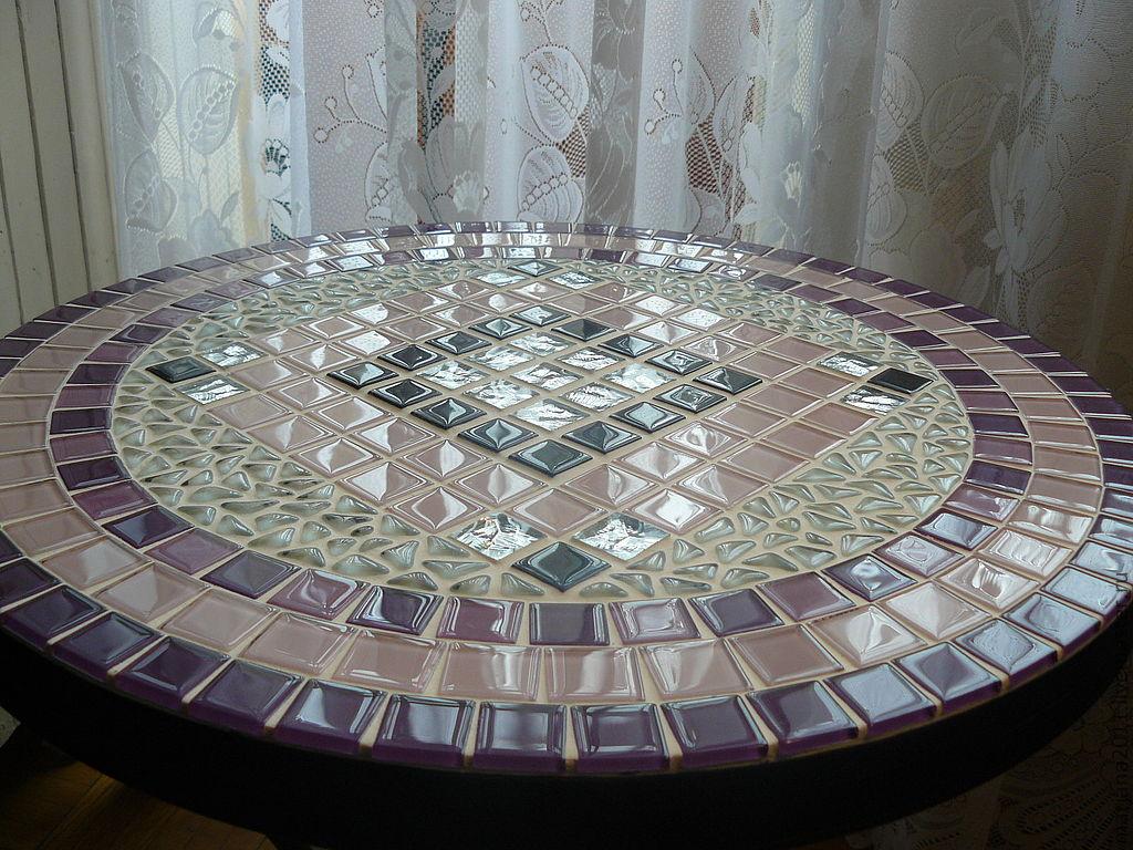 Мозаика. Украшаем стол мозаикой