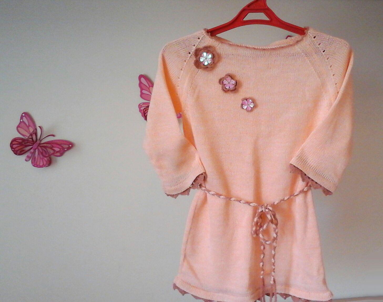 Туника. Блуза для девочки