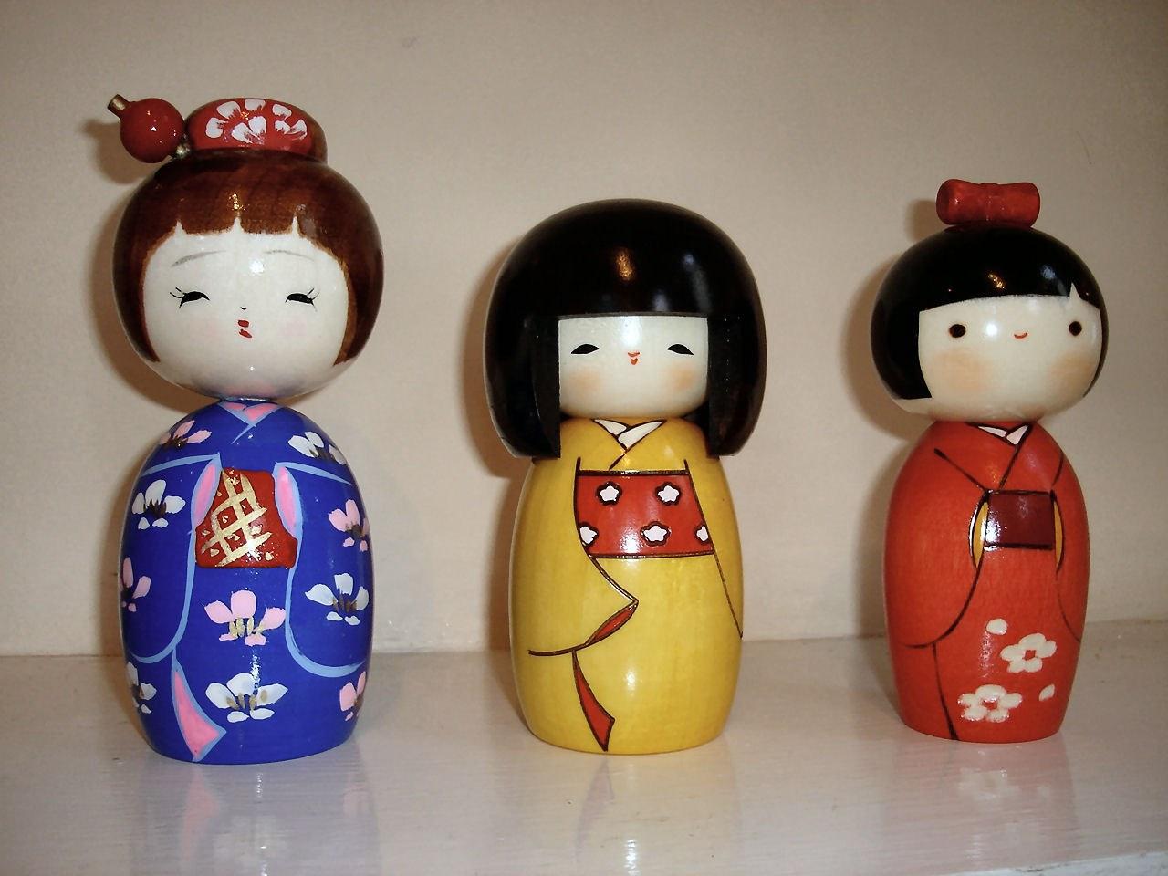 Делаем японских куколок