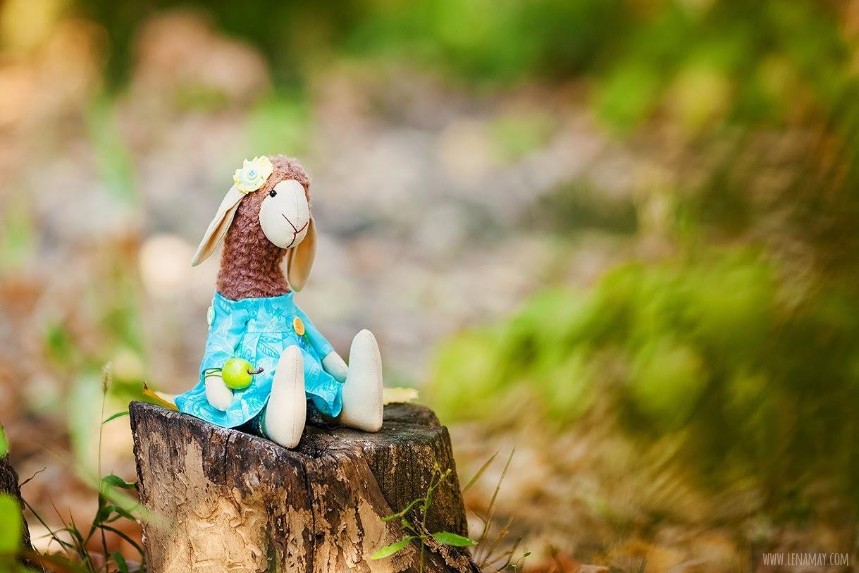 Овечка в костюме зайца. Выкройки
