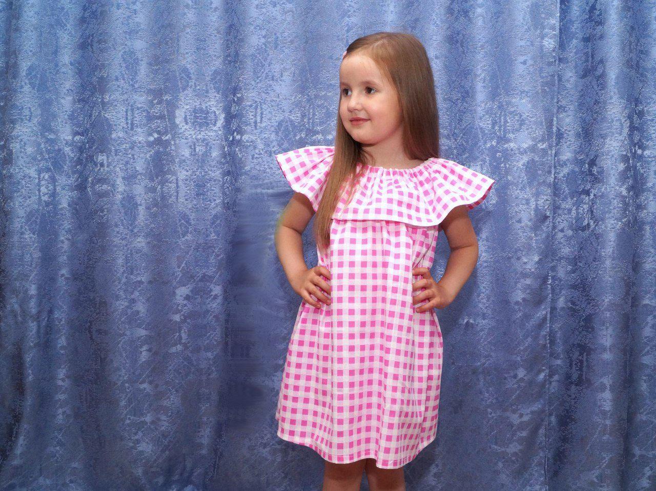 Шьем стильное платье для девочки
