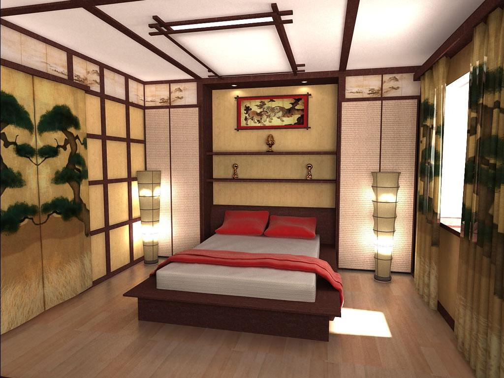 Спальня в японском стиле. Идеи