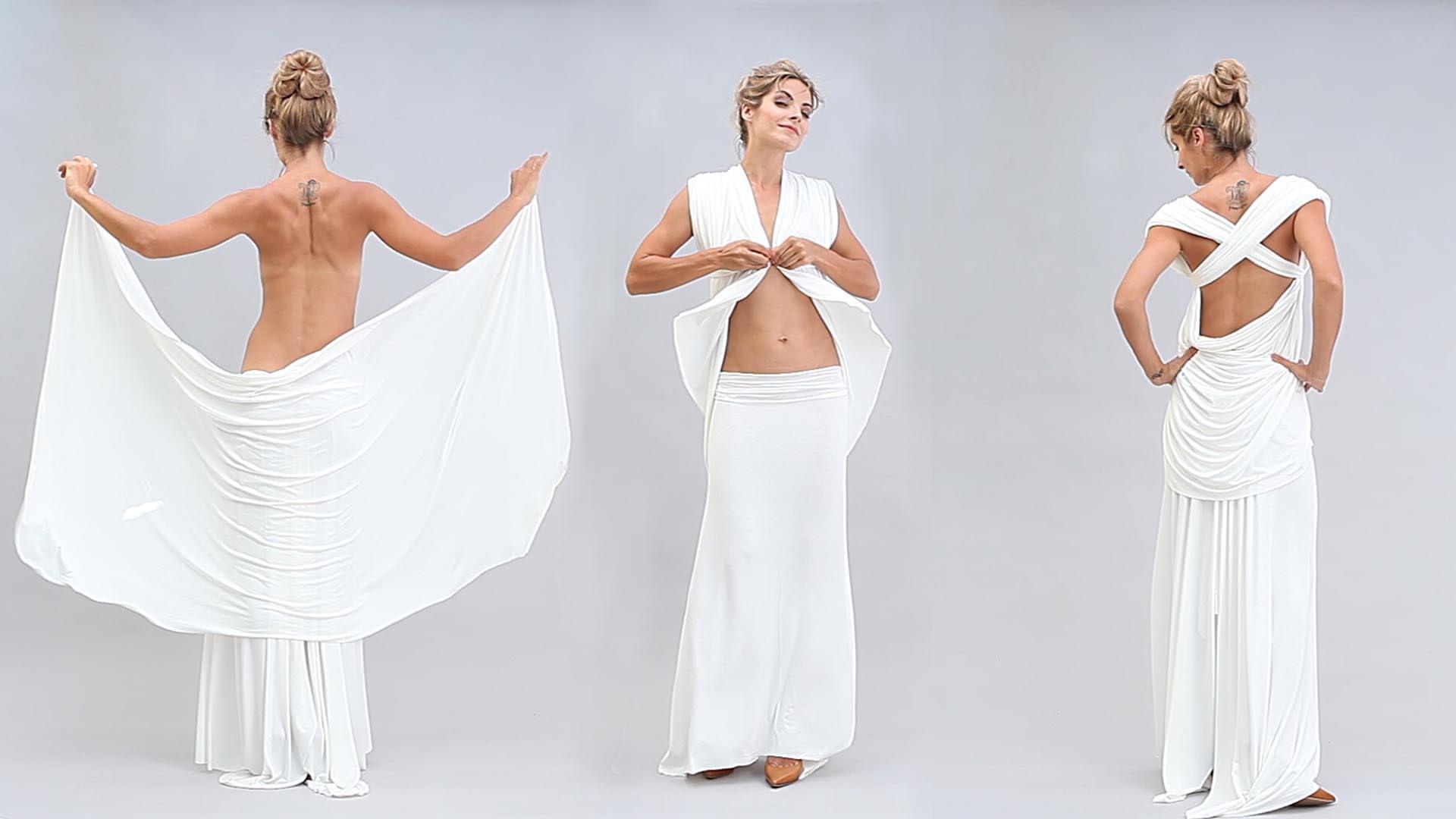Шьем платье-трансформер в греческом стиле