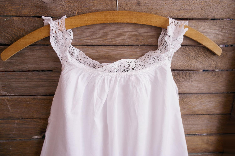 Детское платье из рубашки