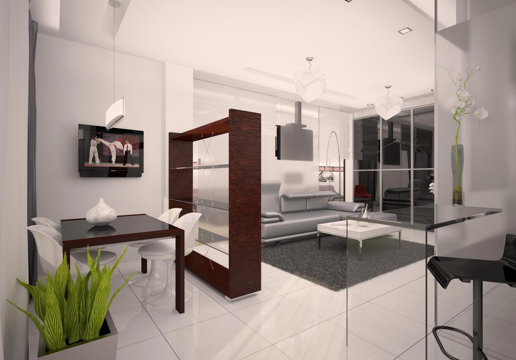 Дизайн для квартиры-студии