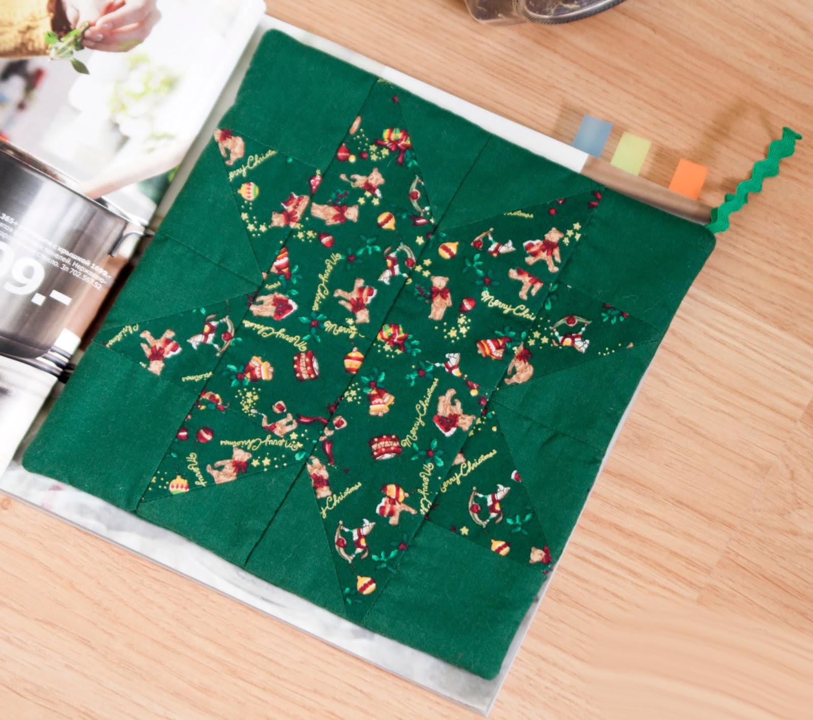 Лоскутное шитье к новому году