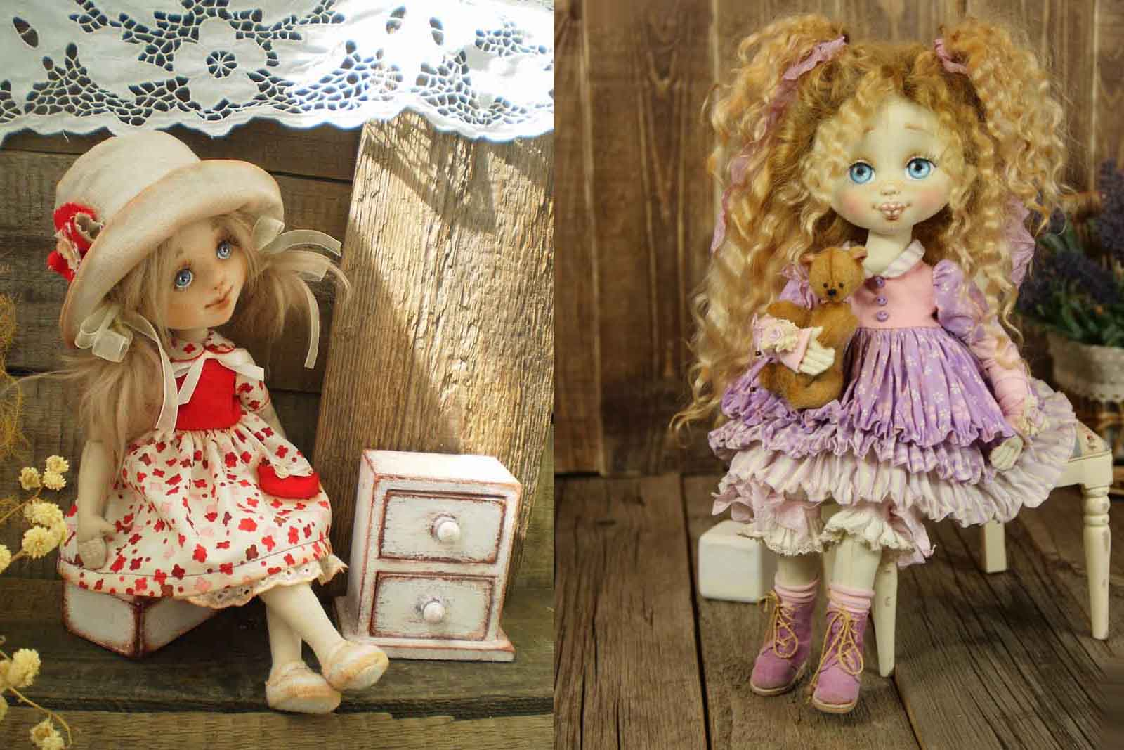 Шьем простую куклу (Rag Doll). Выкройки