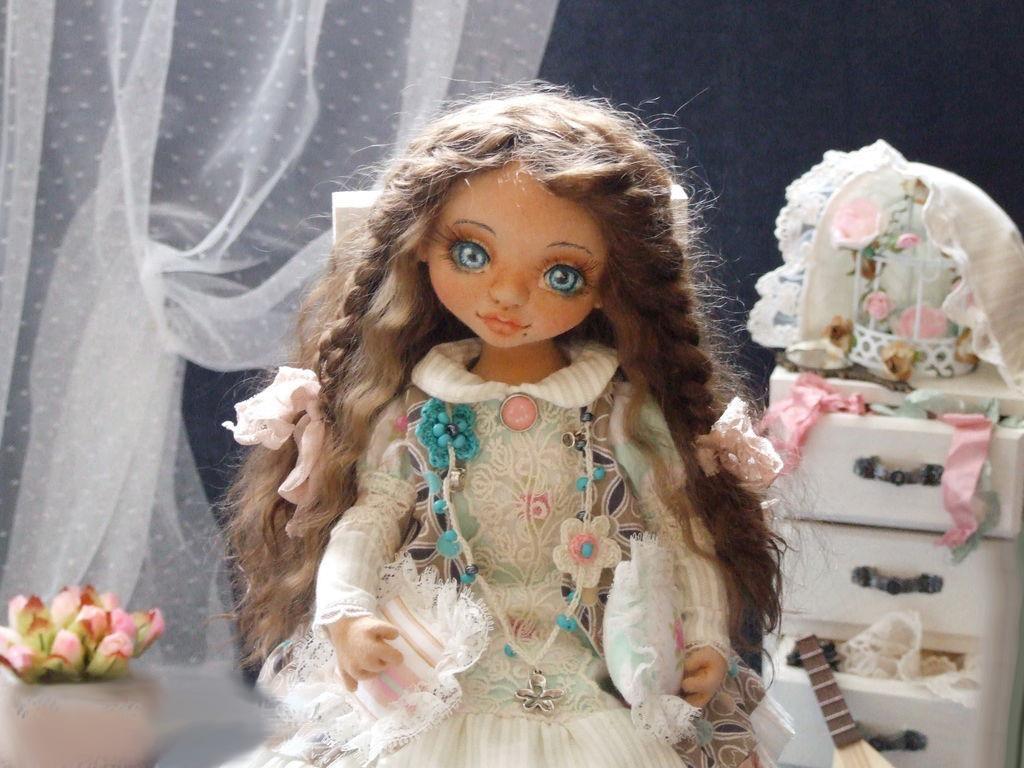 Куколка Тильда Мелисса с выкройкой
