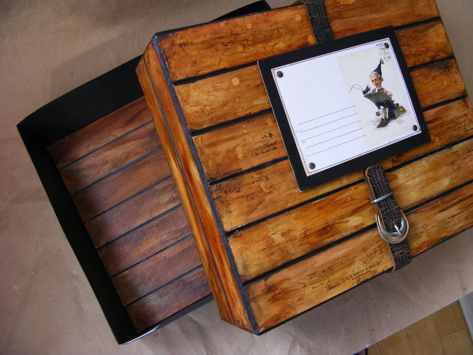 Шебби-ящик для приятных мелочей. Мастер-класс