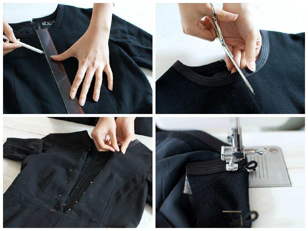 Как легко сшить платье из футболки