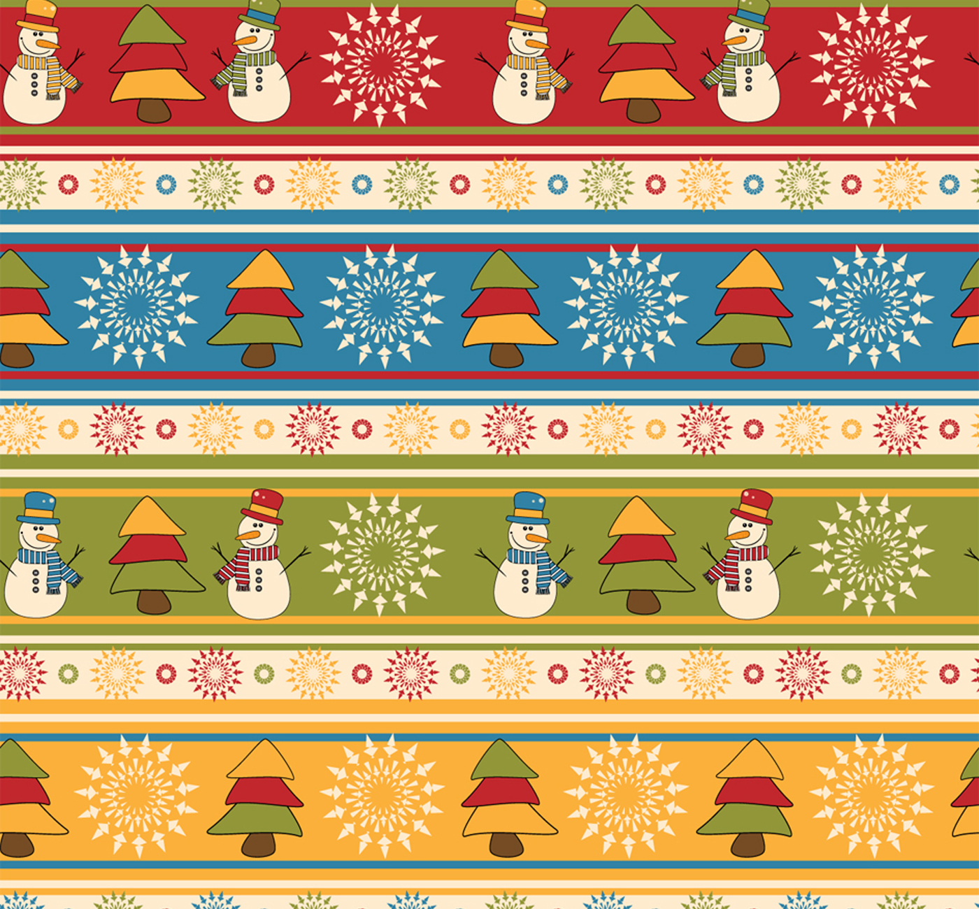 Подборка новогодней бумаги для скрапбукинга