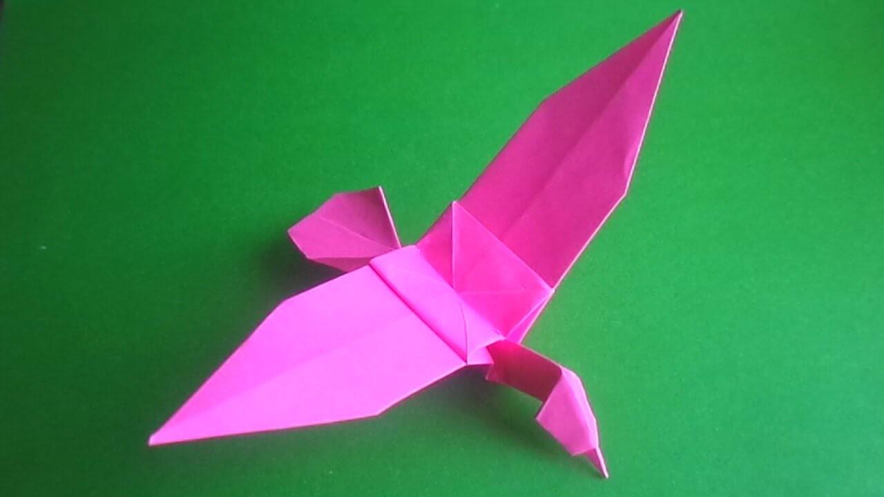 Птички-оригами