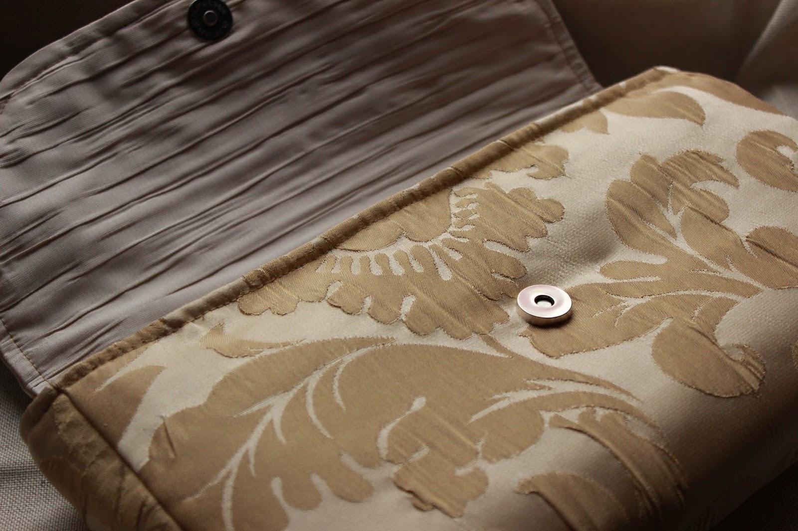 Текстильный клатч своими руками. Выкройки