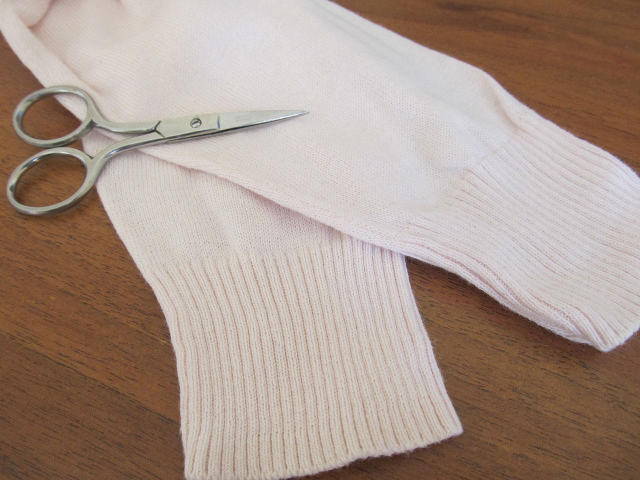 Митенки-варежки из старого свитера