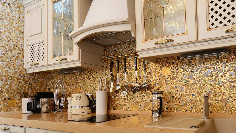 Стеклянная мозаика. Создаем кухонный фартук