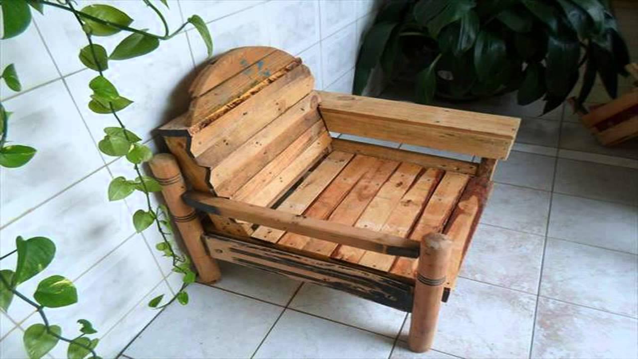 Садовое кресло своими руками из детской деревянной кровати