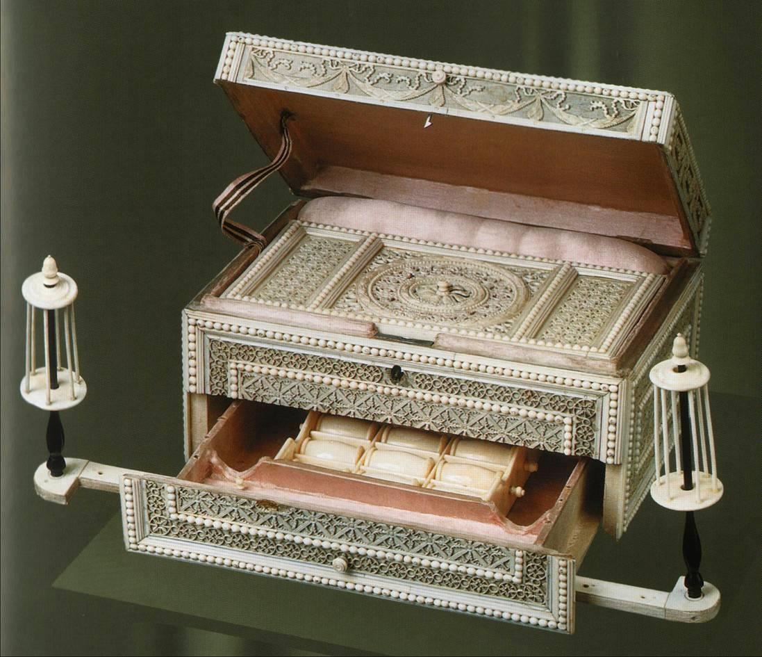 Дворец-шкатулка для рукоделия своими руками