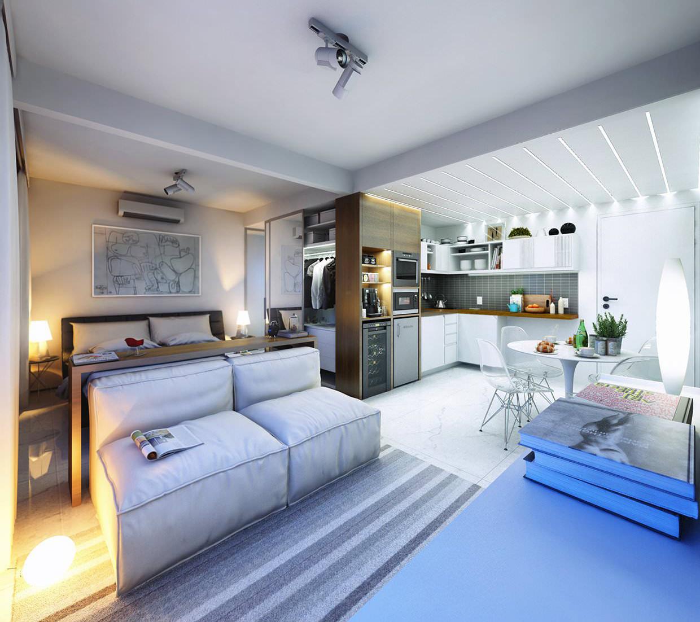Дизайн квартиры 38 кв.м.