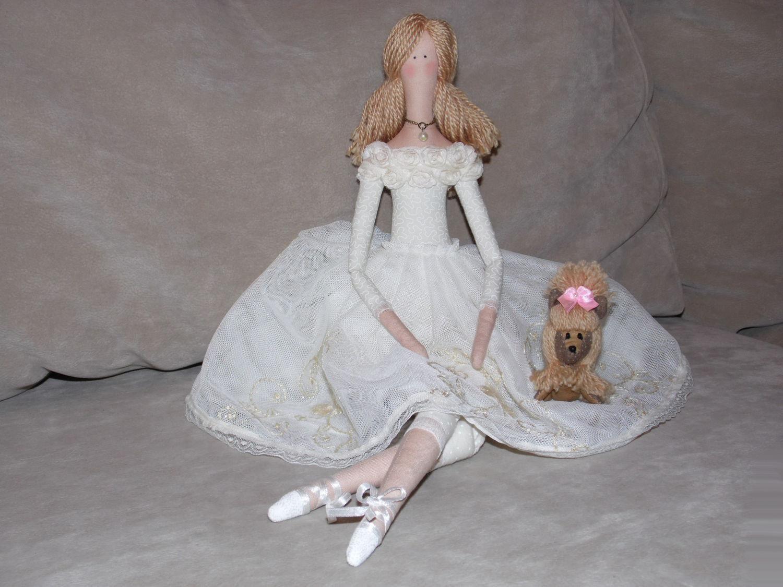 Тильда-балерина. Выкройки