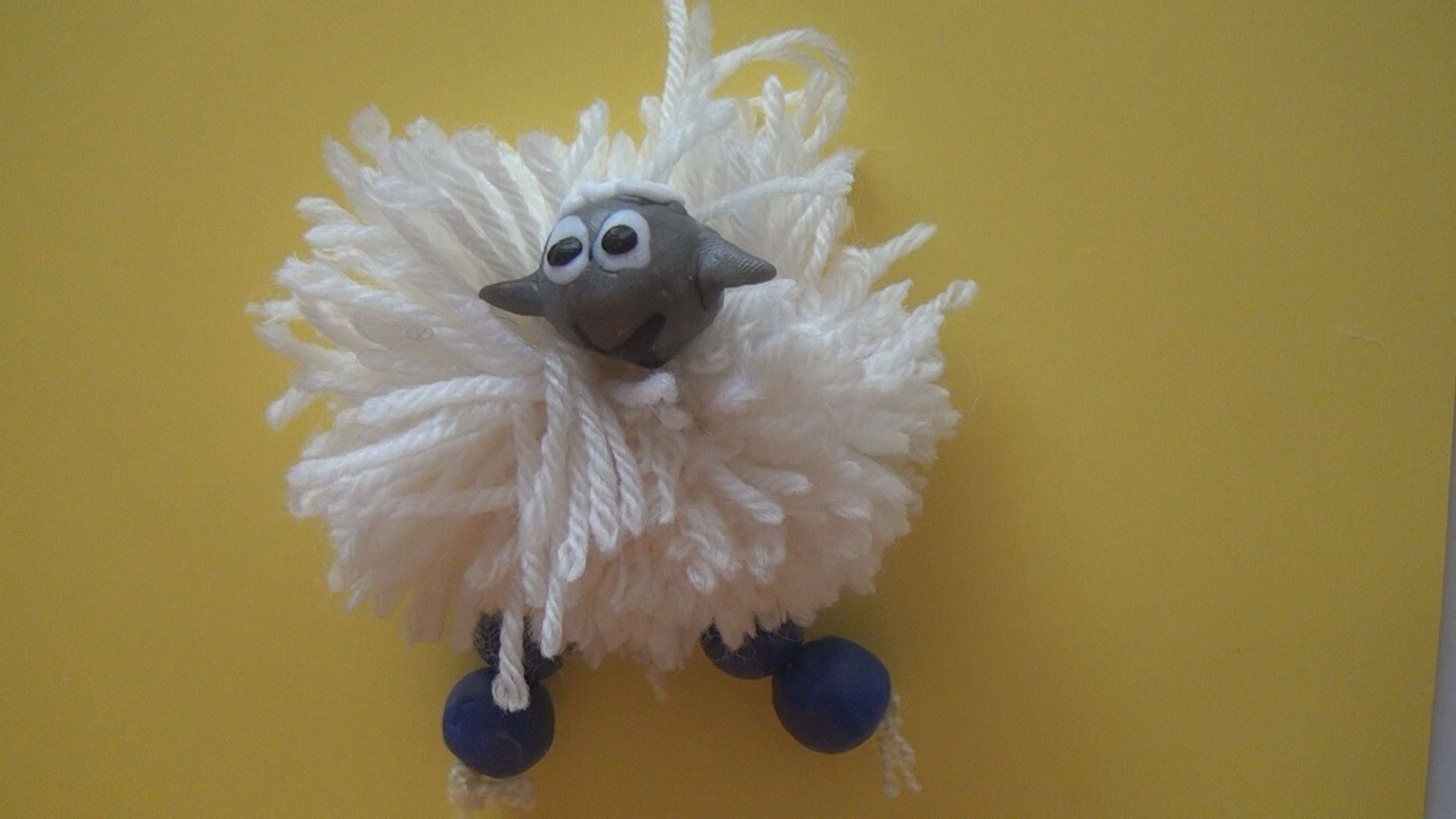 Как сделать овечку своими руками из ниток