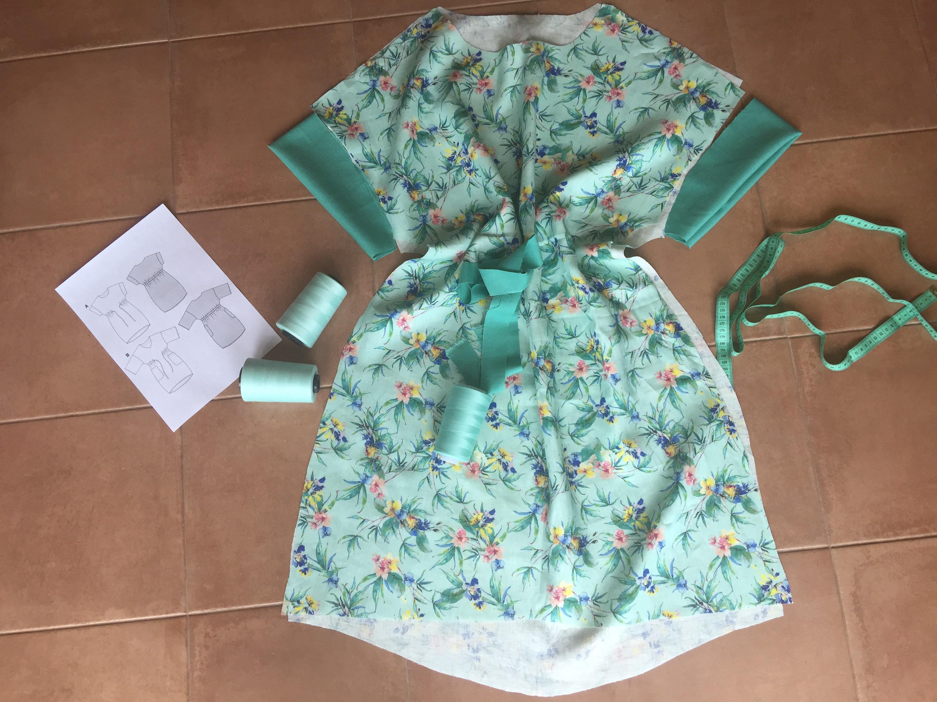 Шьем платье