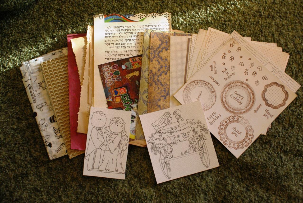 Как сделать конверты из книжных страниц своими руками