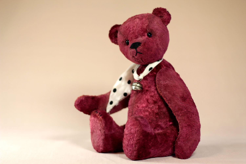 Выкройки игрушки мишка Тедди