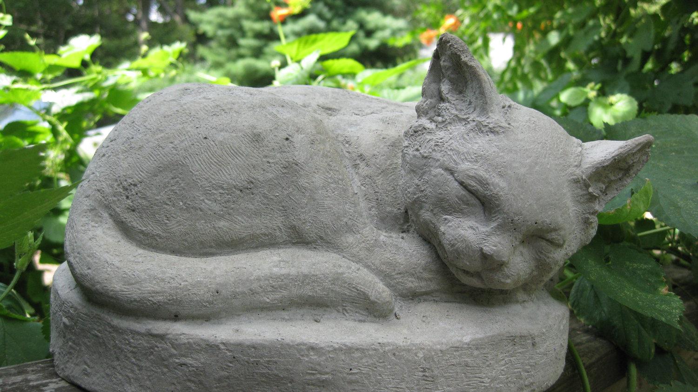 Создание садовой скульптуры. МК