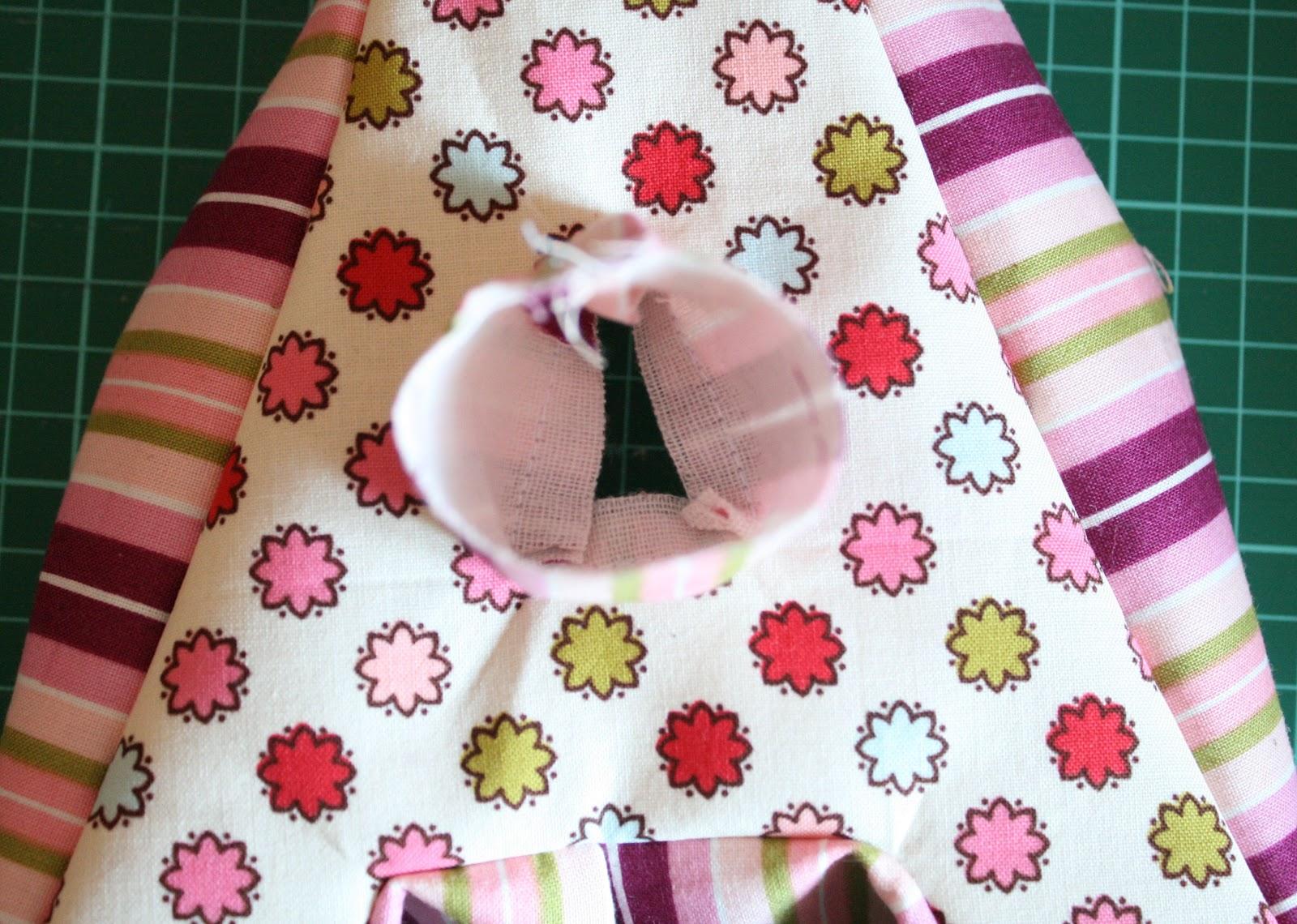Как сделать объёмные буквы из ткани