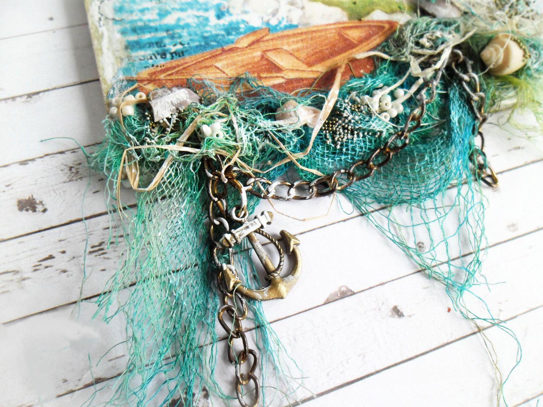 Морские мотивы для декупажа и рукоделия