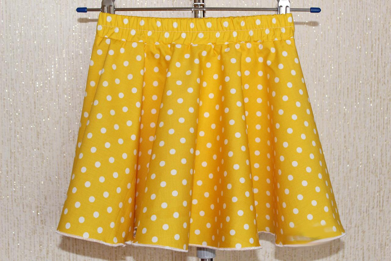 Как сшить простую юбку