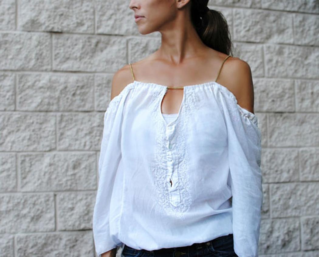 Переделываем футболки шьем платье из футболок