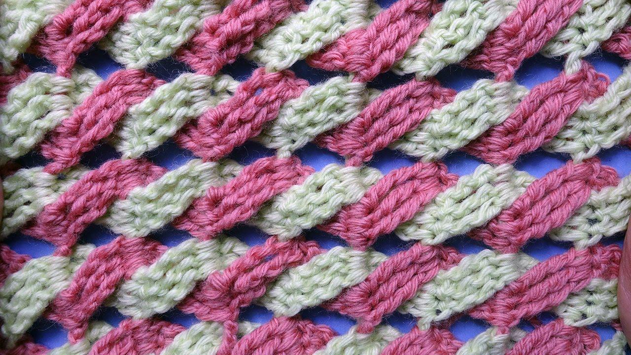 Вязание крючком узоры: схемы