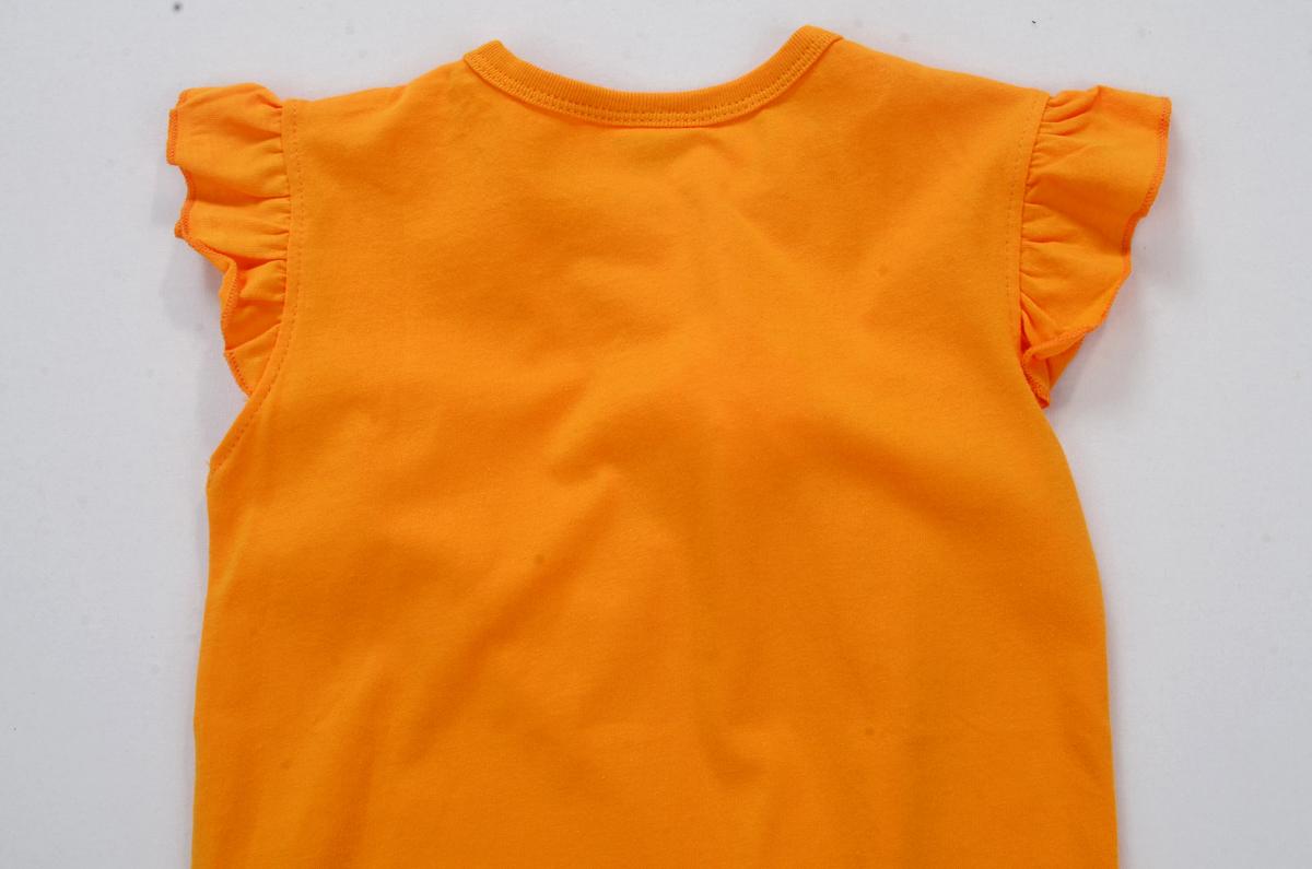Пляжное платье для девочки из футболки
