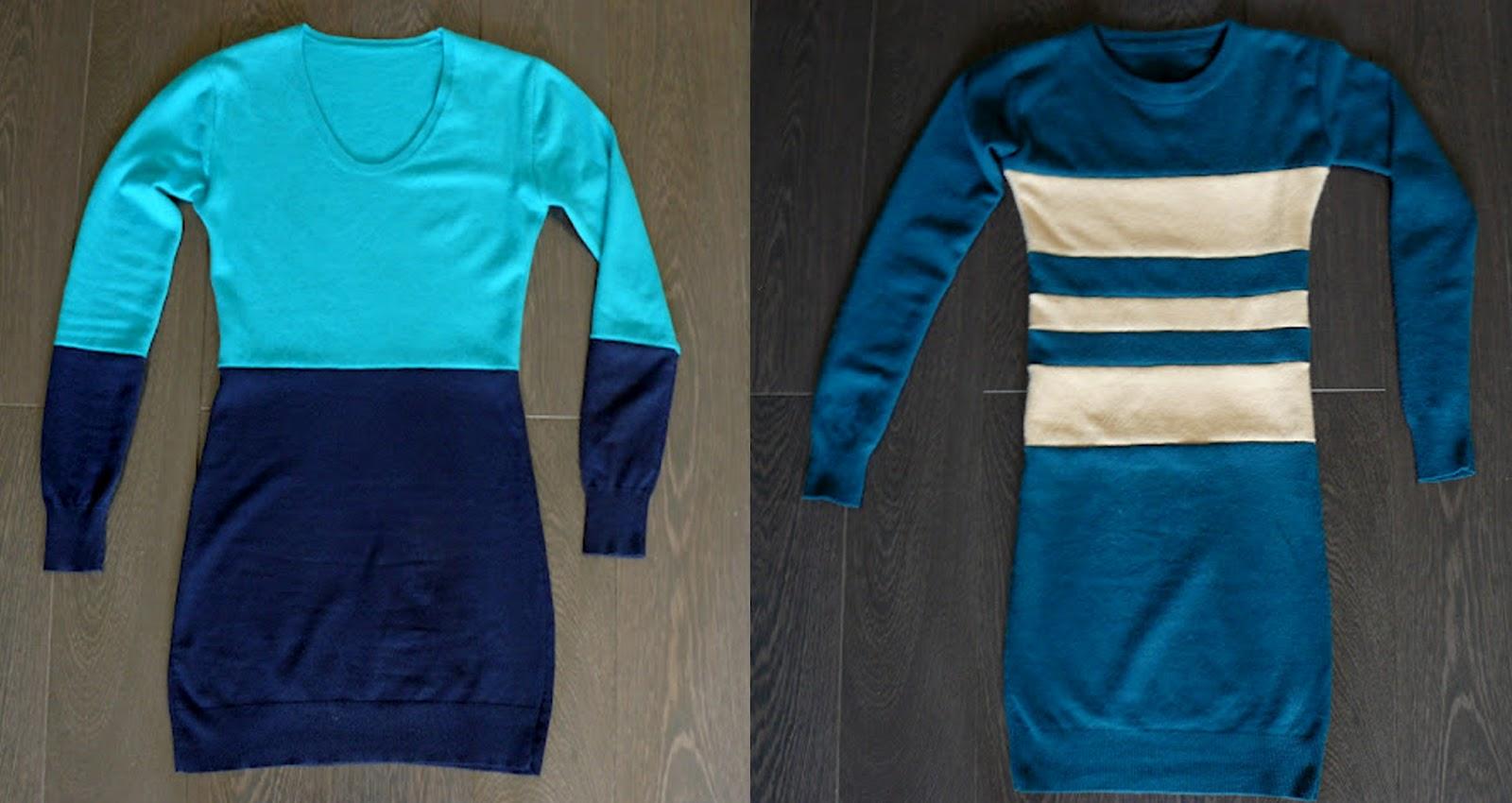 Платье из свитера. Мастер-класс