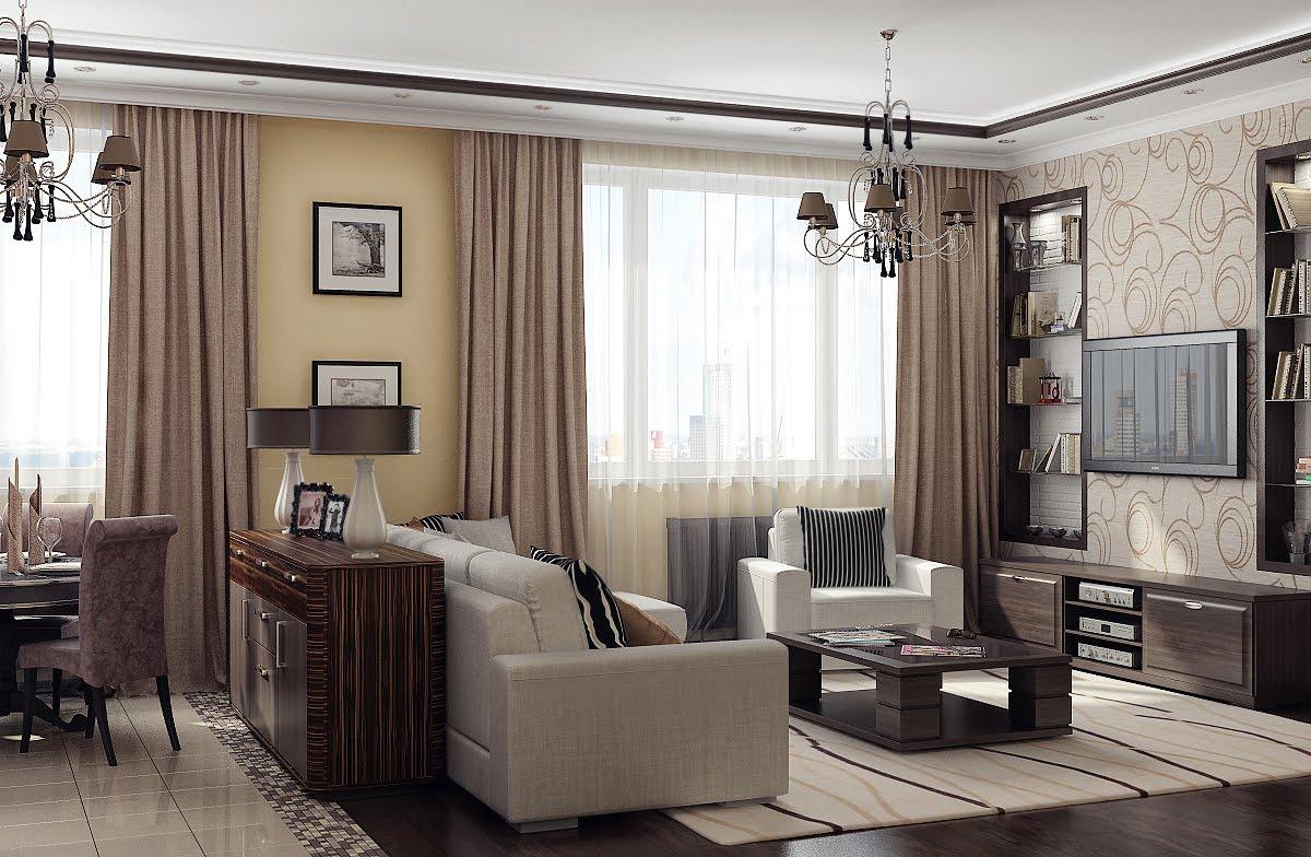 Дизайн интерьера зала: идеи, полезные советы