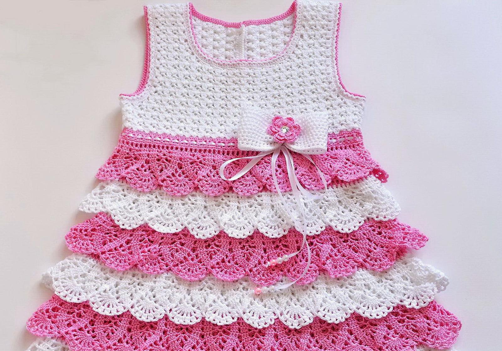 Шитье. Платье для девочки с оборками