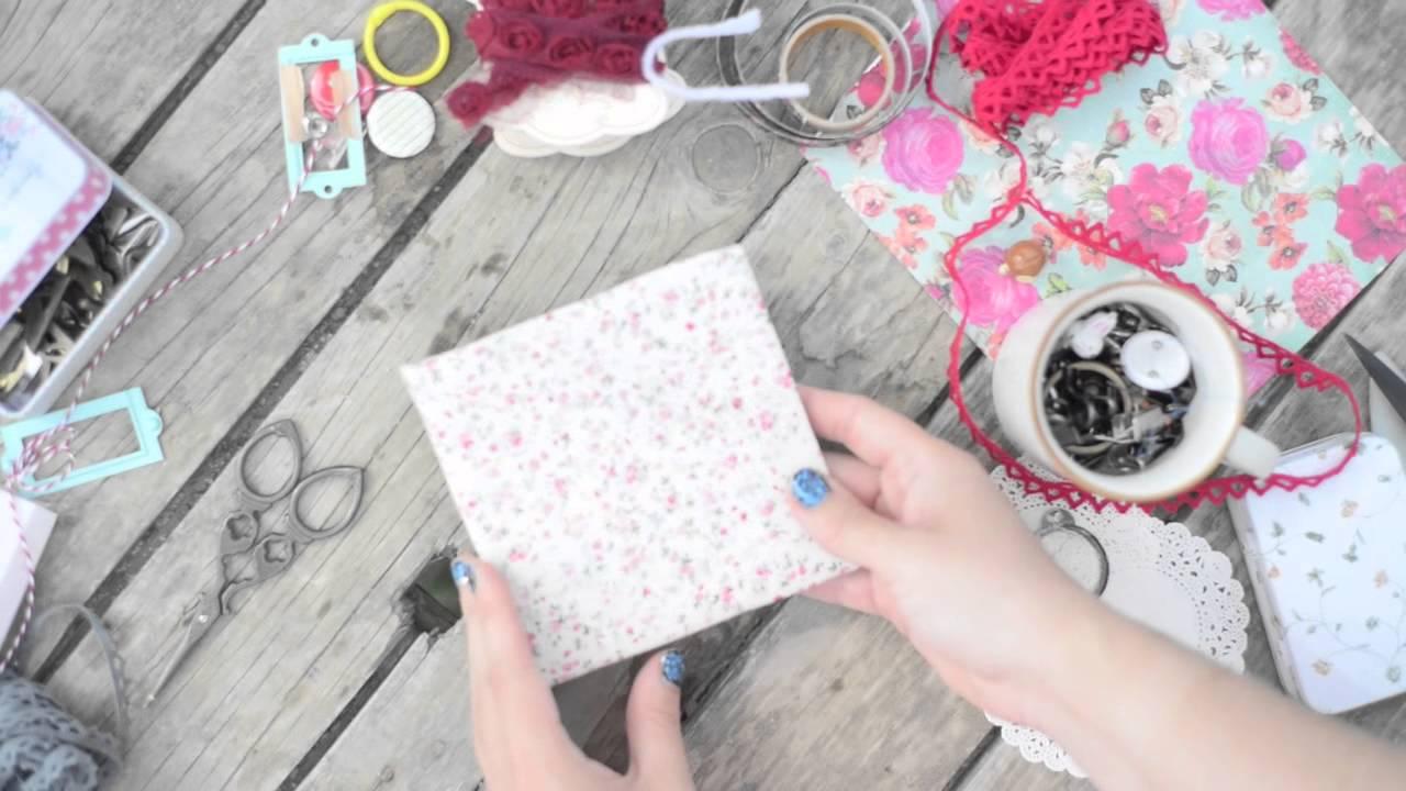 Как сделать коробочку для диска своими руками