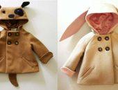 Как сшить детское пальто с ушами. Шьем сами