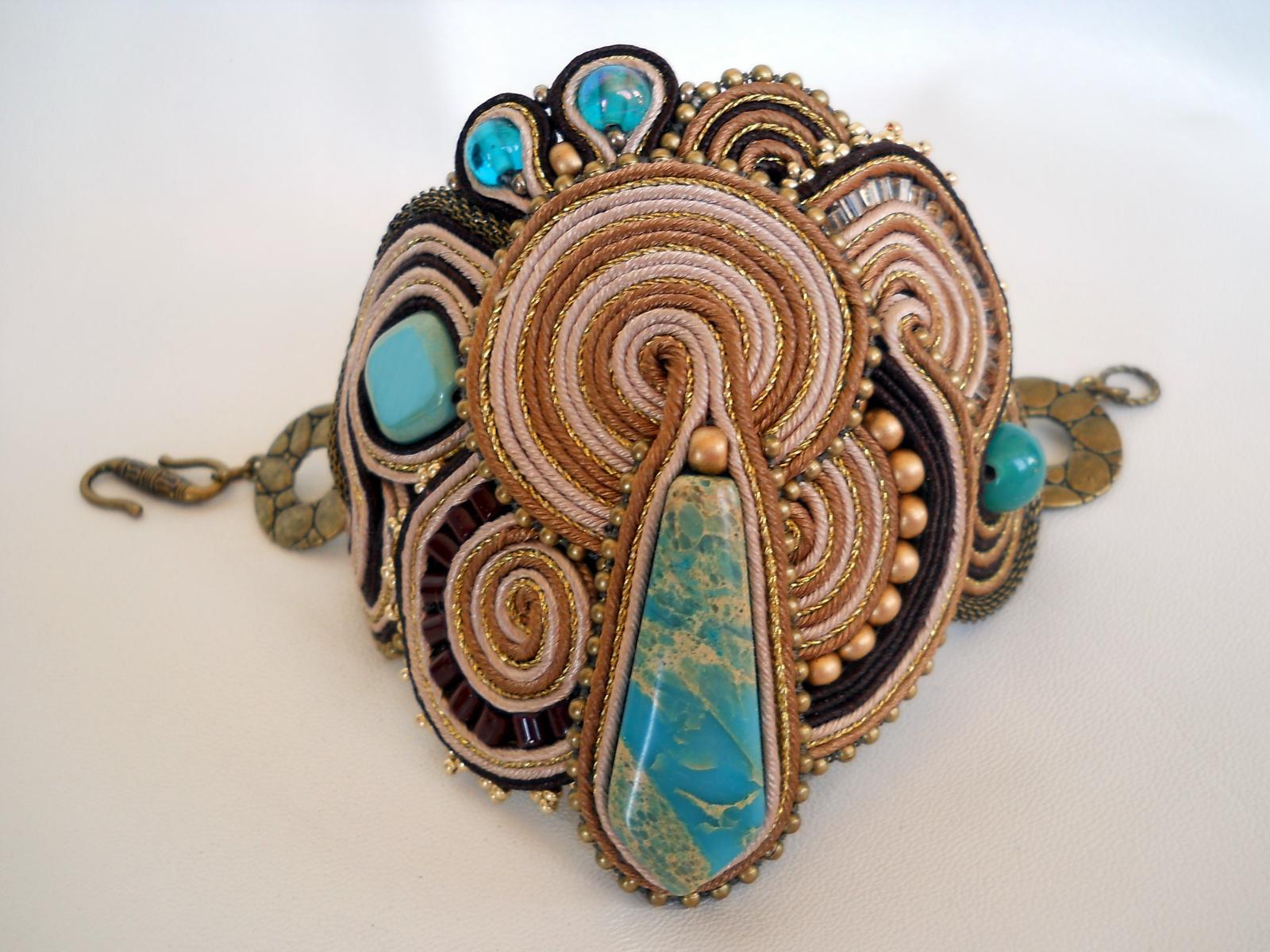 Египетский браслет. Мастер-класс